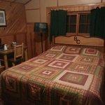 Chambre lit double cabane n5
