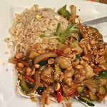 Kung Pao scallops and shrimp