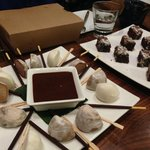 Mochi and brownies