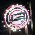 Tuk Tuk sign - welcome in...
