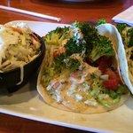 veggie tacos with slaw