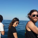 Whale Watching trip with Mossel Bay backpackers' Gerrie