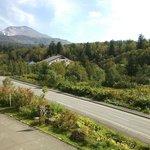 客室から旭岳の山容の望める数少ないホテルです