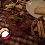 Plateau charcuterie, fromage