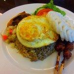 Special fried rice @ The Terrace restaurant, Senayan National Golf Club