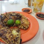 grilled kuwe fish