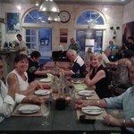 The Edinburgh crew in the Le Bistro
