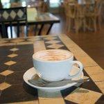 Freshly Brewed Cafe Latte