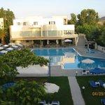 piscina e blocco principale