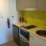 kitchen/pantry area