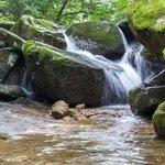 Waterfall in Mudeungsan National Park