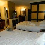 Dos camas de dos plazas