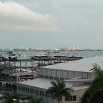 Biscayne Bay and boatyard