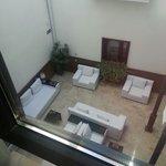 Vistas interiores del hotel desde la habitación