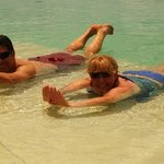 Piscina sin fin, al Mar Caribe