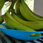 Green Plantains. Both kind are served