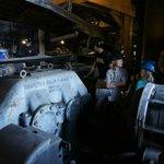 Coal conveyor motor