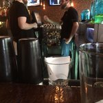 Friendly and attractive bar tenders