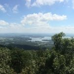 View toward Weiss Lake
