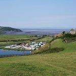 Ausblick auf den Bristol Channel, 20 Gehminuten entfernt
