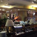Zeppelin Restaurant at the breakfast