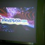 entertainment screen