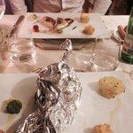 Mains - rosemary & thyme fillet steak & gunard fillets