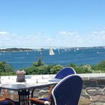Lunch overlooking the bay