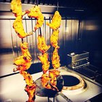 Tandoori Chicken, made fresh from the clay oven!!!