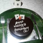 Our special anniversary cake....