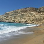 La splendida Red Beach