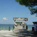 Entrance to Rod and Reel