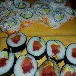 Kilauea Sushi and California Rolls