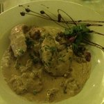 chicken with walnut sauce