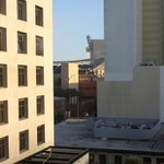 View from our room, Petco Park and Roof top bar