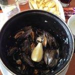 Cauldron of mussels
