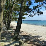 the beach at Cap coz