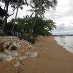 Restaurante fica junto à Praia da Concha
