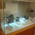 Antiguo proyector cinematográfico.