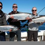 Steve MacNaull and family with some beauty Chinook