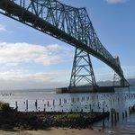 Bridge viewed from trolley