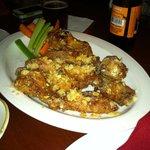 Garlic Parmesan Wings..... OH YEAH!!!!