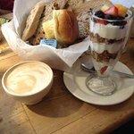 Café da manhã completo e saudável !!!!!!