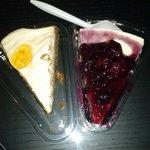 Cheesecake maravilhoso.