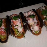 Mini Lobster tacos... Mmm