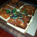 Crispy ricotta and truffle oil foccacia!