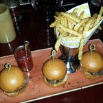 Kobe sliders and fries...Sooo good!