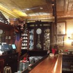 Shot of the bar that came from England in the late 1880s