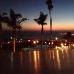 Blick aus dem Hotelzmmer