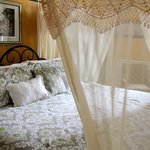 Romantic Draped King Size Bed in Giovanni Room